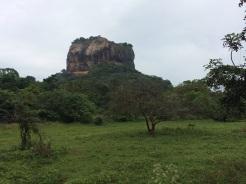 Le Rocher à Sigiriya