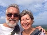 Robert et Jocelyne à Sigiriya