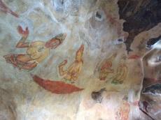 Fresques à Sigiriya