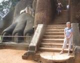 Porte du lion, Sigiriya