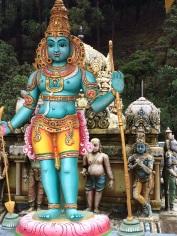 Temple Indou près de Nuwara Eliya
