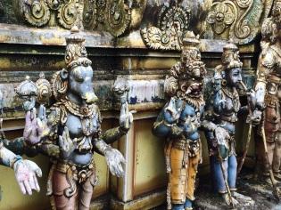 Temple Indou près de Nuwala Eliya
