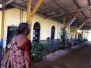 Gare de train en allant vers Colombo