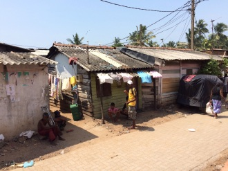 Bidonville juste avant Colombo