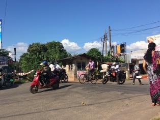 Derrière l'échoppe du cordonnier, Negombo