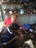 Robert et le cordonnier, Negombo