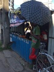 Échoppe du cordonnier à Negombo