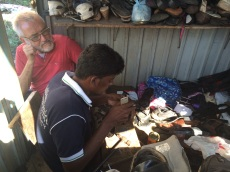Cordonnier à Negombo