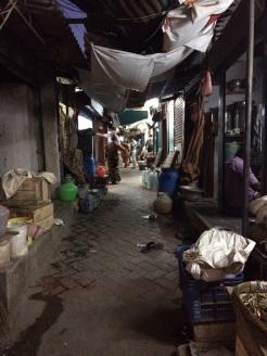 Rue étroite à Madurai