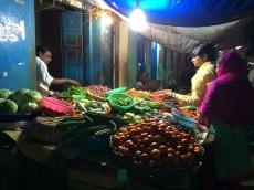 Achats de fin de journée, Madurai