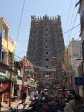 Entrée Ouest du Sri Meenakshi