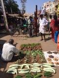 Vendeur de légumes à Madurai