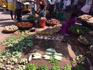 Légumes du marché, Madurai