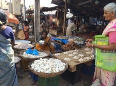 Au marché à Madurai