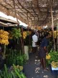 Marché de bananes à Madurai