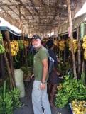 Au marché de bananes à Madurai