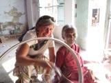 Madurai, pratique de technique de fabrication du fil.