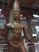 Bronze au Sri Meenakshi, Madurai