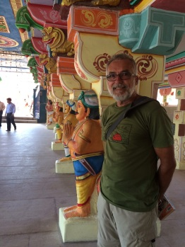 Dans un temple à Rameswaram