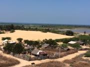 Village au pied du temple Gangha Madhana Parvatham