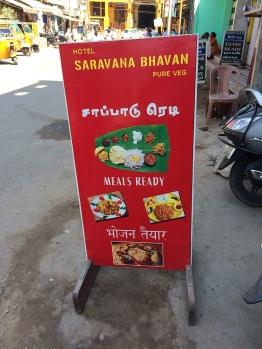 Saravana Bhavan à Rameswaram