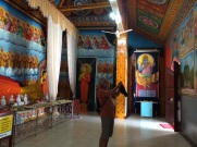 Intérieur d'une stupa à Anuradhapura