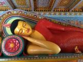 Bouddha couché Anuradhapura