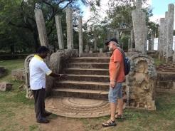 Restes d'un temple Anuradhapura