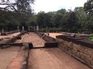 Cuisine et réfectoire pour les moines à Anuradhapura