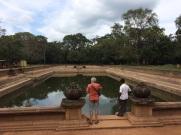 Kuttam Pokuna, bain pour le roi à Anuradhapura