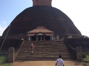 Stupa en brique Anuradhapura