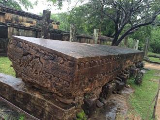 Gal Pota à Polonnaruwa