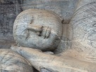 Kalu Gal Vihara Bouddha couché