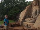 Kalu Gal Vihara à Polonnaruwa