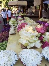 Offrandes prêtes pour Bouddha, Kandy
