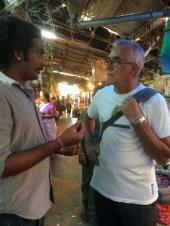 Robert et Devi Singh notre guide