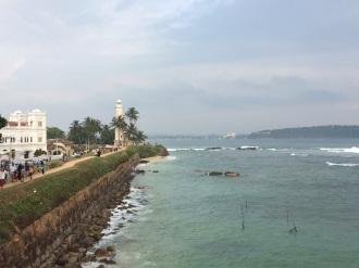 La tour de l'horloge à Galle, Sri Lanka