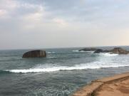 La mer à Galle, Sri Lanka