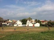 Jeu de cricket à Galle, Sri Lanka