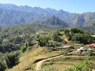 Montagne près de Sapa, Vietnam