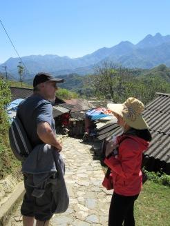 Robert et Loan, notre guide à Sapa