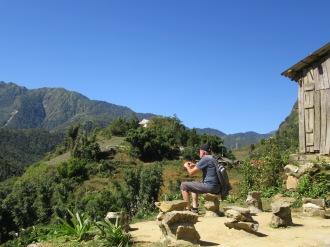 Observatoire et aire de discussion pour les villageois, Sapa