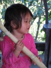 Enfant Hmong dans la région de Sin Chai