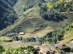Village dans la vallée, Sapa
