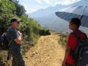 Robert et Khiet près de Sapa