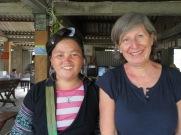 Femme Hmong qui nous a accompagnées pendant la matinée.
