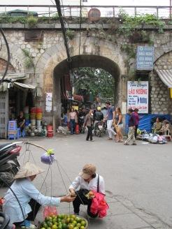 Dans les rues de Hanoï, Vietnam