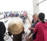 Ferry de Vinh Long à An Binh, Vietnam