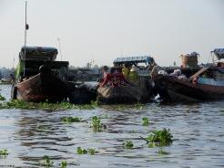 Marché flottant, Cái Be, Vietnam