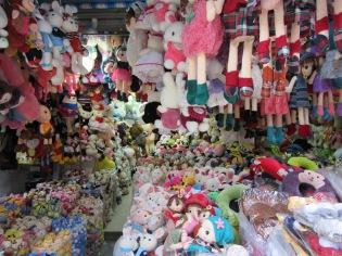 Poupées à vendre, vieux quartier, Hanoï